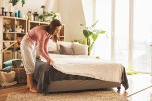 como cuidar da roupa de cama