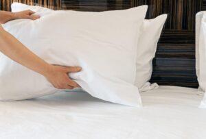 como cuidar dos travesseiros